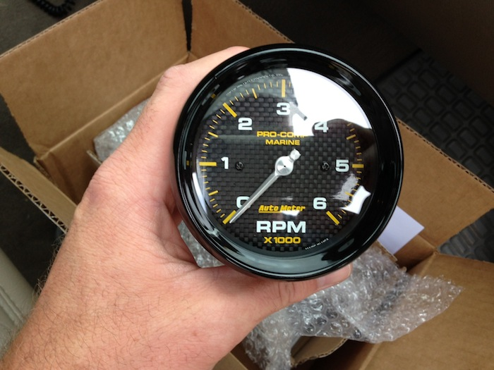 autometer marine gauges